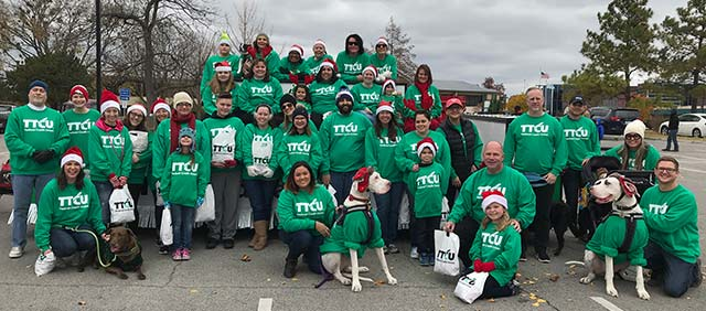 Parade volunteers from TTCU